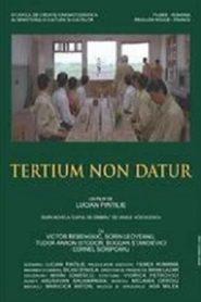 Tertium Non Datur